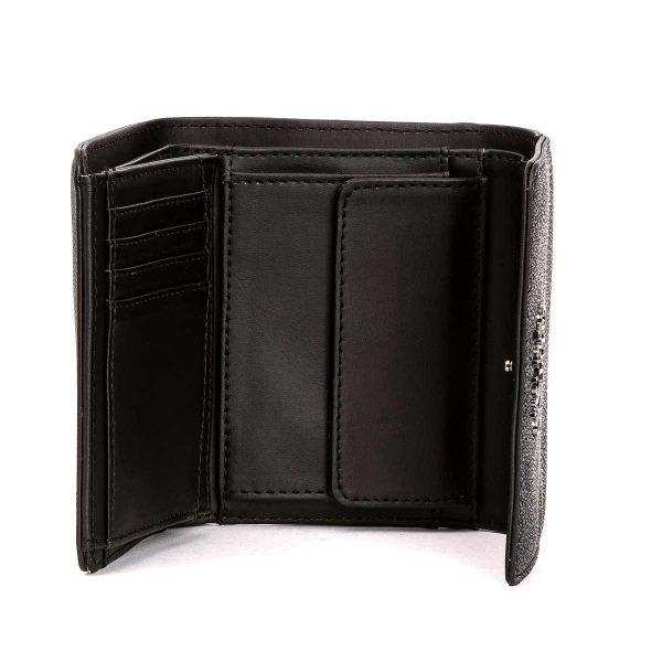 Geldbeutel GUESS BÖRSE MIKA BLACK:GREY 12,5 x 10 x 4 cm bags and more Kaiserslautern